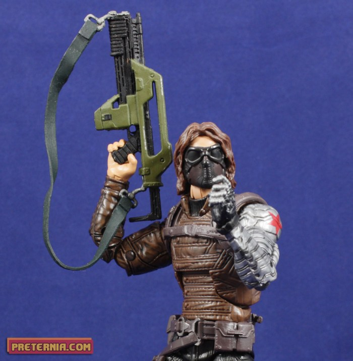Hasbro Marvel Legends Captain America Infinite Mandroid Winter Soldier Review