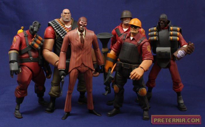 NECA Valve Team Fortress 2 TF2 Engineer Review