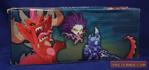Blizzard Cute but Deadly Kerrigan Diablo Arthas SDCC Set