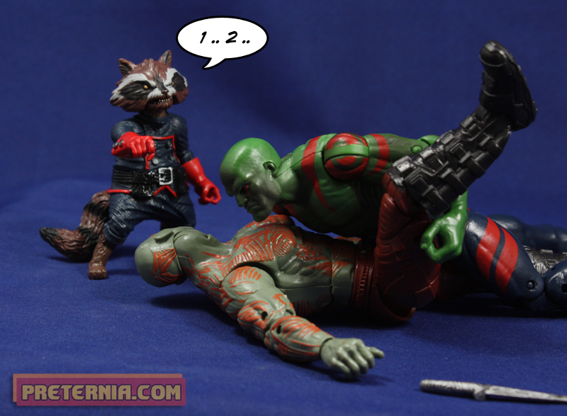 Hasbro Marvel Legends Guardians of the Galaxy Groot Drax Review
