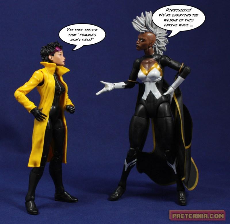 Hasbro Marvel Legends Infinite X-Men Jubilee BAF Build-A-Figure Review
