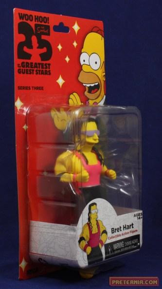NECA Simpsons 25th Anniversary Bret Hart