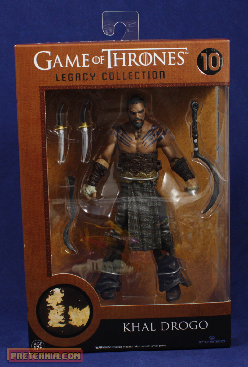 Funko Legacy Wave 2 Khal Drogo Review