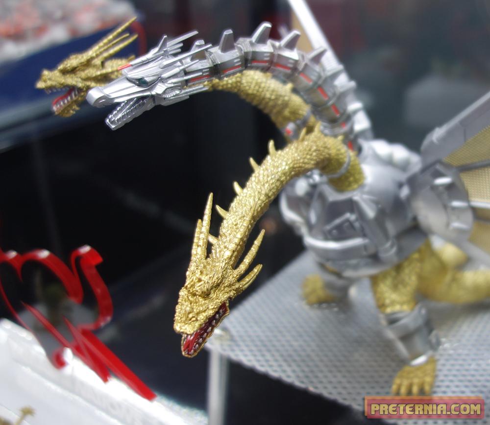 S.H. MonsterArts NYCC 2014 Mecha King Ghidorah