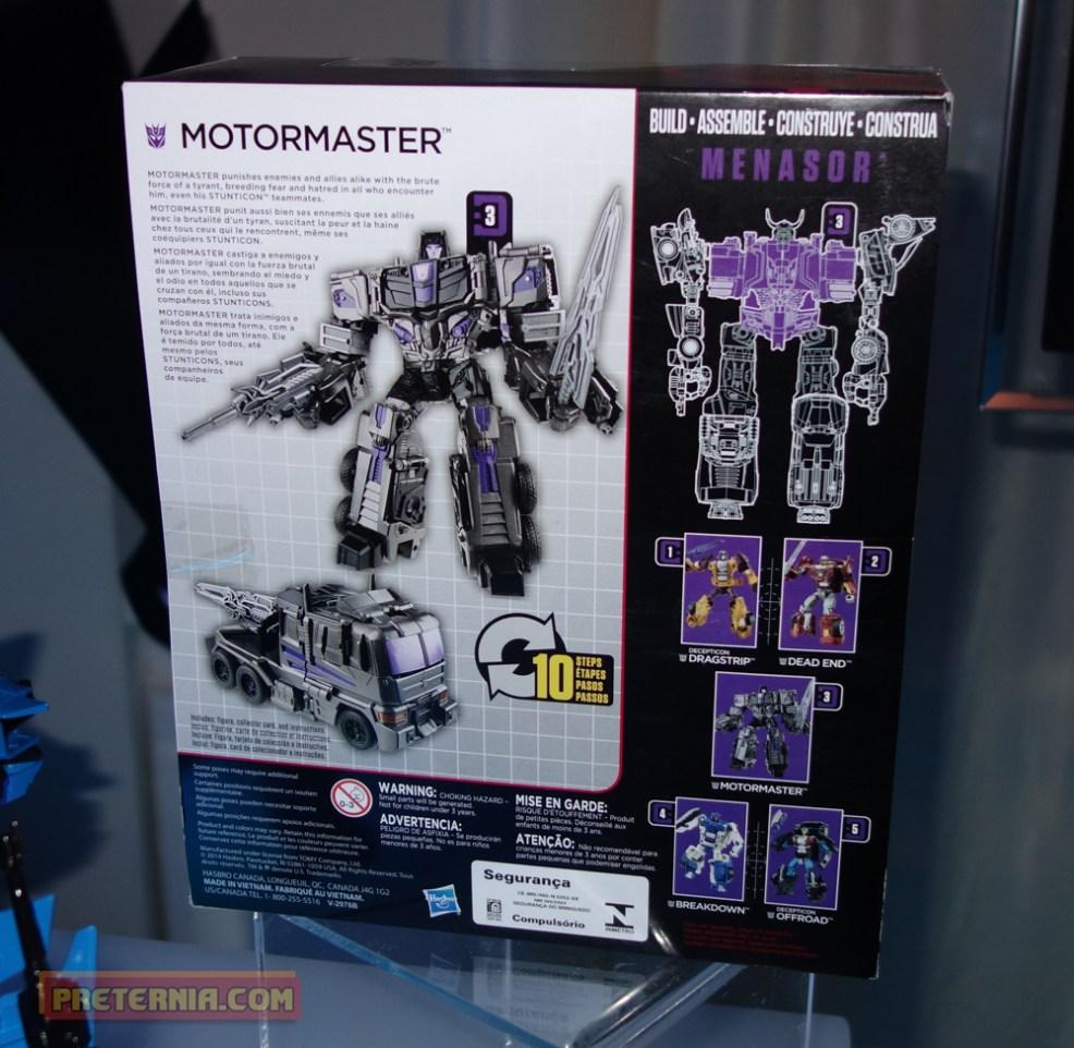 NYCC 2014 Hasbro Combiner Wars
