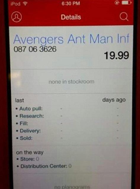Hasbro Marvel Legends Ant-Man