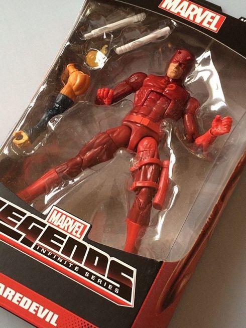 Marvel Legends Spider-Man Infinite 2015 Daredevil