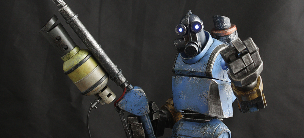 3A Team Fortress 2 TF2 Robot Pyro