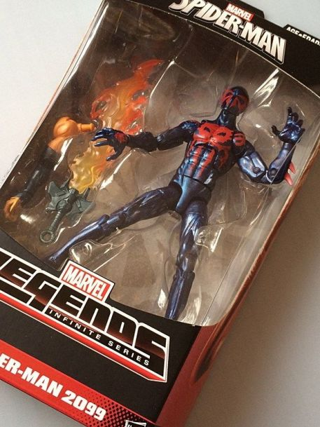 Marvel Legends Spider-Man Infinite 2015 Spider-Man 2099