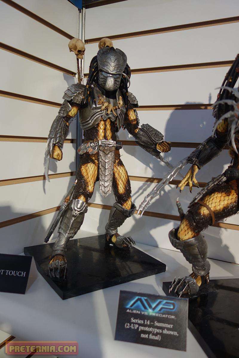 Toy Fair 2015 NECA Predator AVP