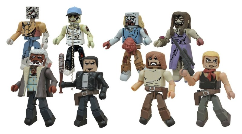Diamond Select Walking Dead Minimates All Out War