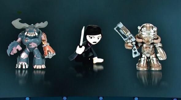 E3 Bethesda Funko Mystery Minis Set