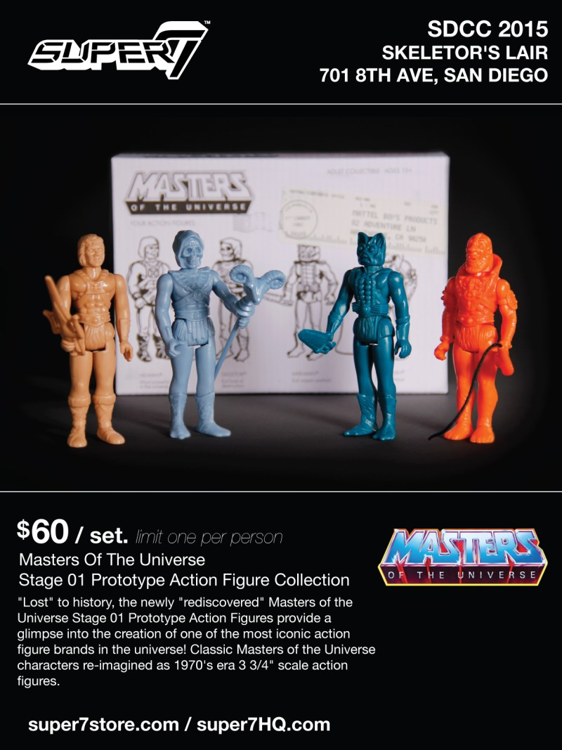SUPER7 SDCC 2015 Masters of the Universe