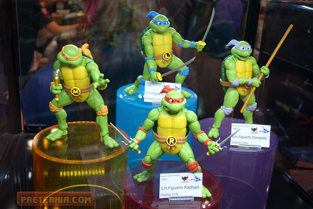 NYCC 2015 S.H. Figuarts TMNT Ninja Turtles