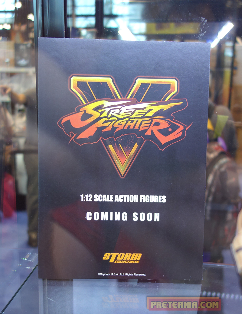 Storm Collectibles Street Fighter 5 NYCC 2015