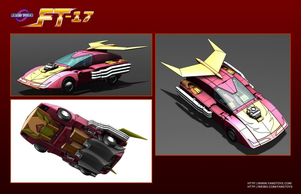 Fans Toys FT-17 Hoodlum Hot Rod