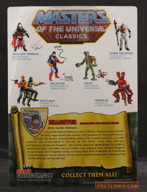 Mattel MOTUC Masters of the Universe Classics Dragstor