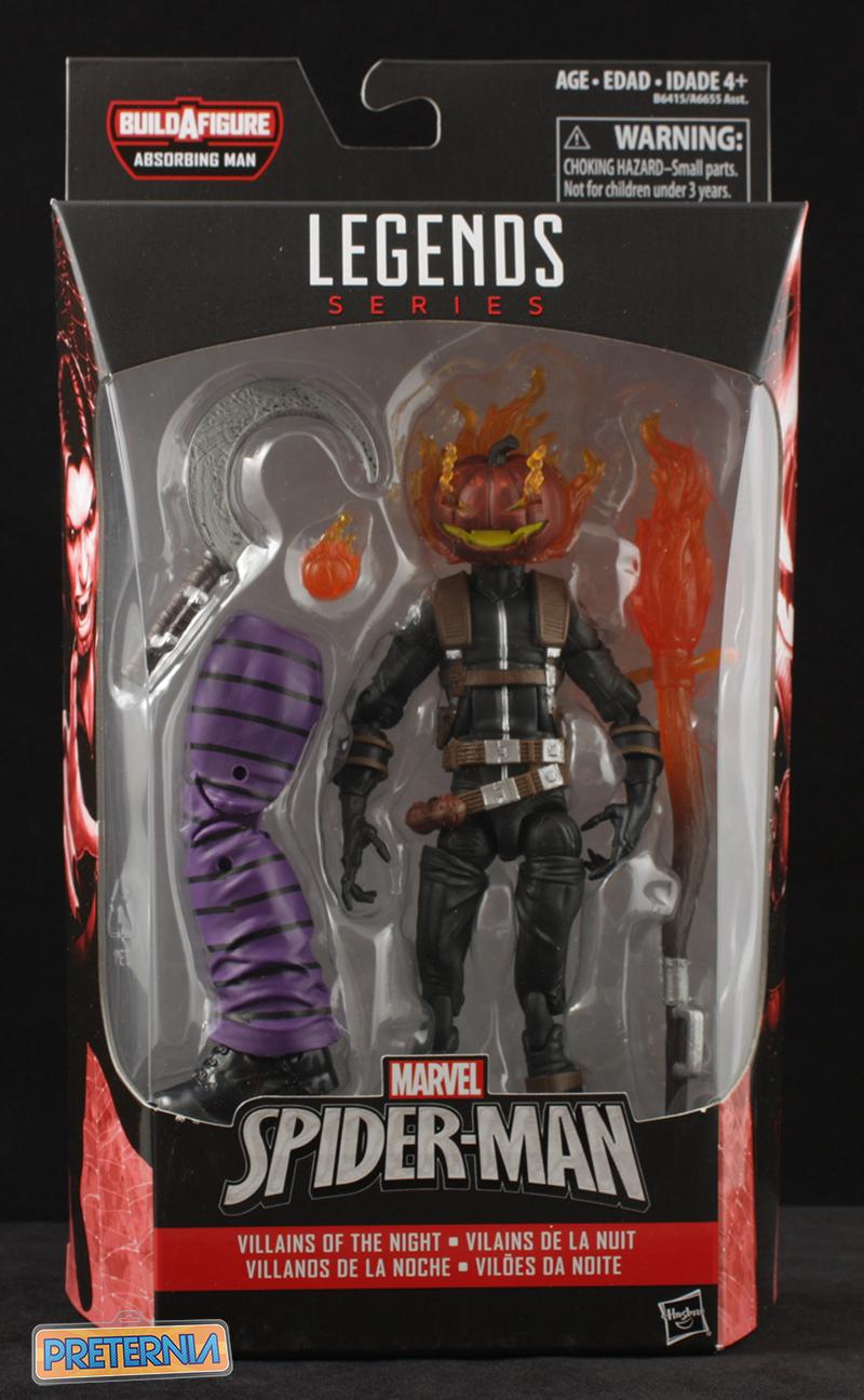 Hasbro Marvel Legends Jack O'Lantern Spider-Man Series Review