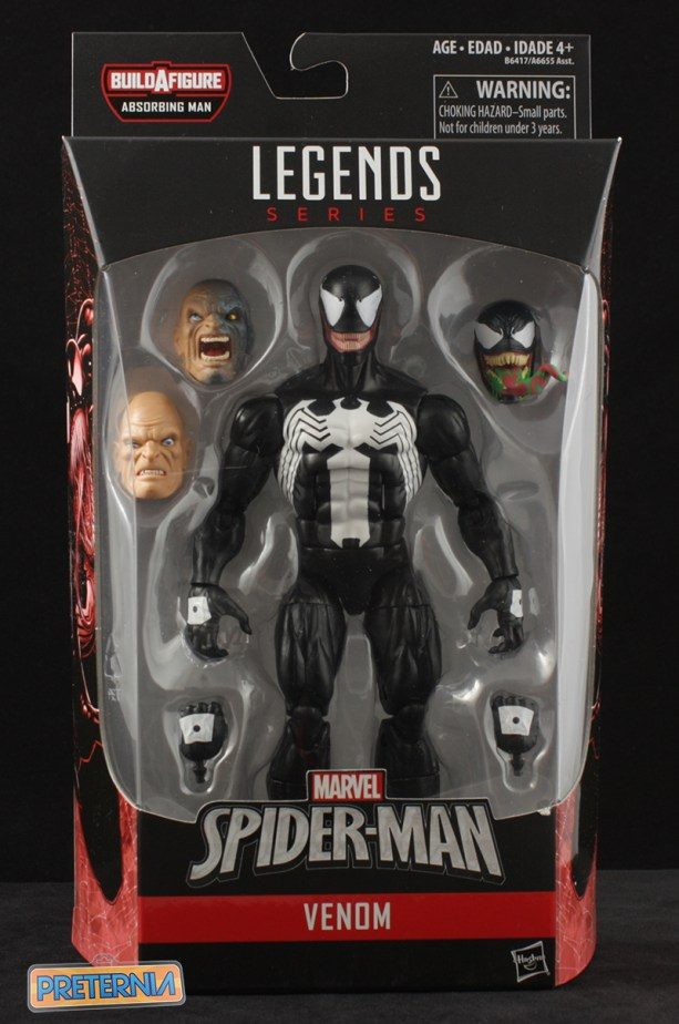 Hasbro Marvel Legends Venom (2016) Spider-Man Review