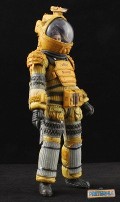 NECA Alien Isolation S6 Amanda Ripley Compression Suit Review