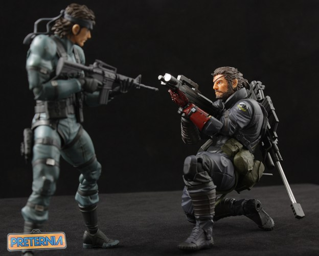 Vulcanlog Revoltech Venom Snake Big Boss Metal Gear Solid 5 Review