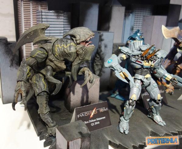 NECA Pacific Rim Toy Fair 2016