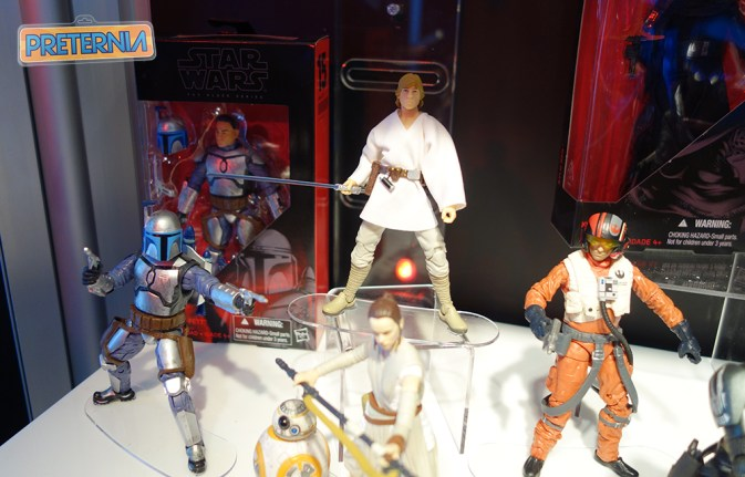 Hasbro Star Wars Black Series Toy Fair 2016