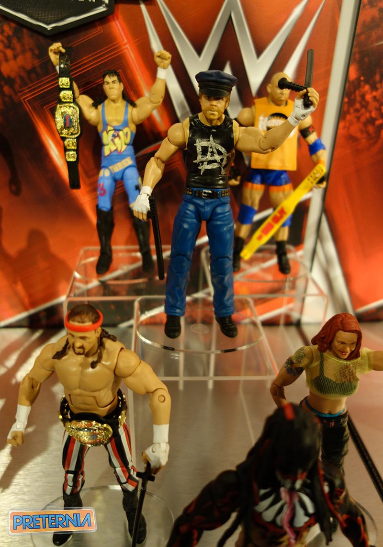 Mattel WWE Toy Fair 2016
