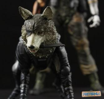Play Arts Kai Metal Gear Solid D-Dog Review Phantom Pain