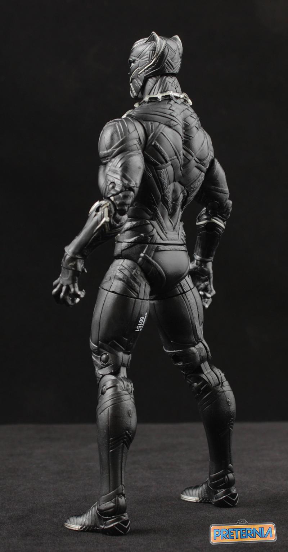 Hasbro Marvel Legends Civil War Black Panther Captain America Review