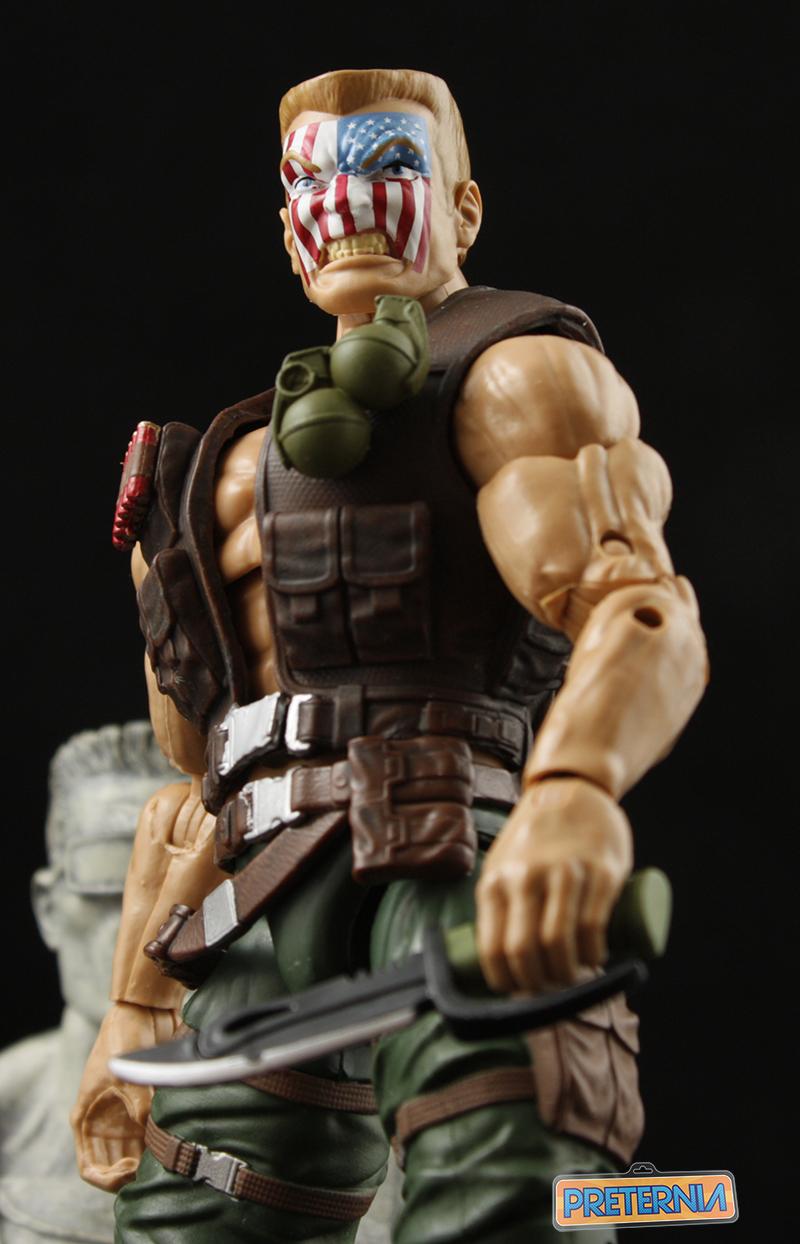 Hasbro Marvel Legends Civil War Nuke Captain America Review