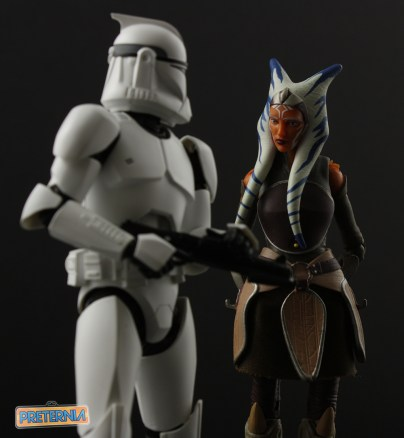 Hasbro Star Wars Black Ahsoka Tano Review