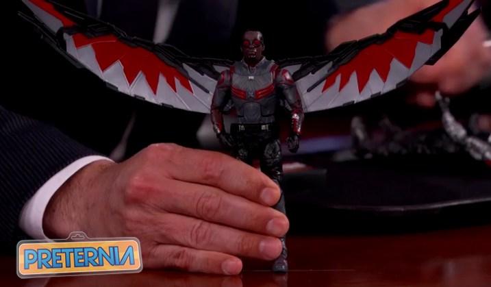 Hasbro Marvel Legends Walmart Winter Soldier Falcon Civil War