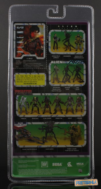 NECA Aliens Lt Ripley Kenner Review