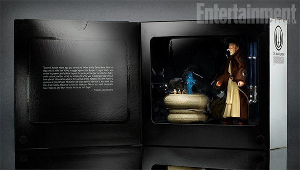 SDCC 2016 Hasbro Star Wars Black Obi-Wan Kylo Ren