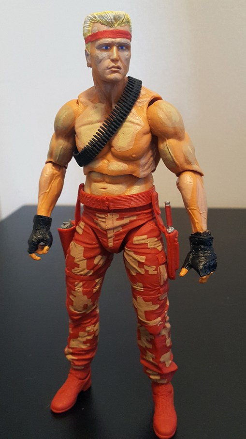 NECA Contra Bill and Lance Two-Pack Review