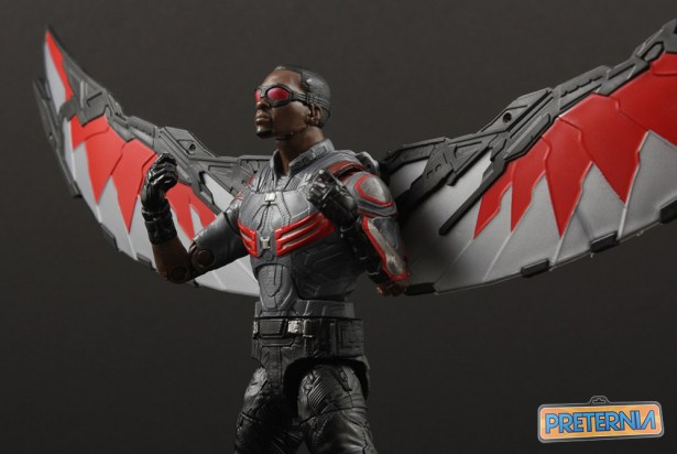 Hasbro Marvel Legends Falcon Walmart Exclusive Review