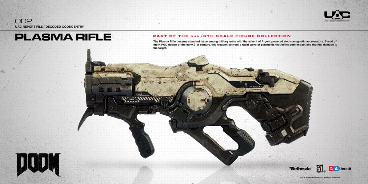 3A Bethesda Doom Marine 1/6 Scale Figure