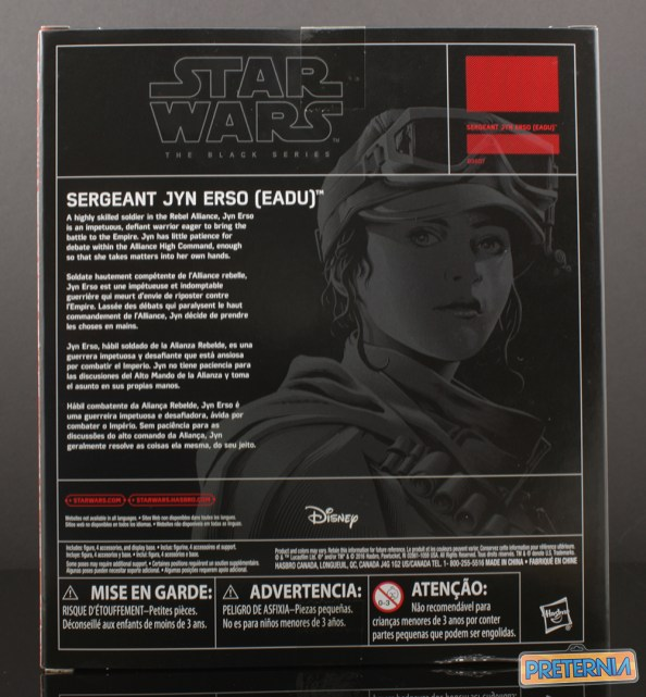 Hasbro Star Wars Rogue One Kmart Exclusive Jyn Erso EADU Review