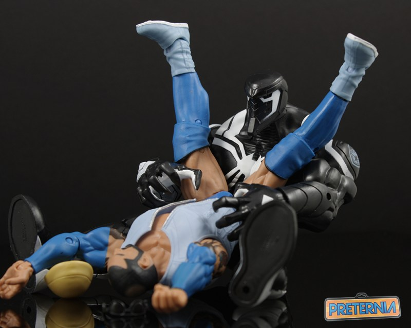 Hasbro Marvel Legends Space Venom Build-a-figure Review