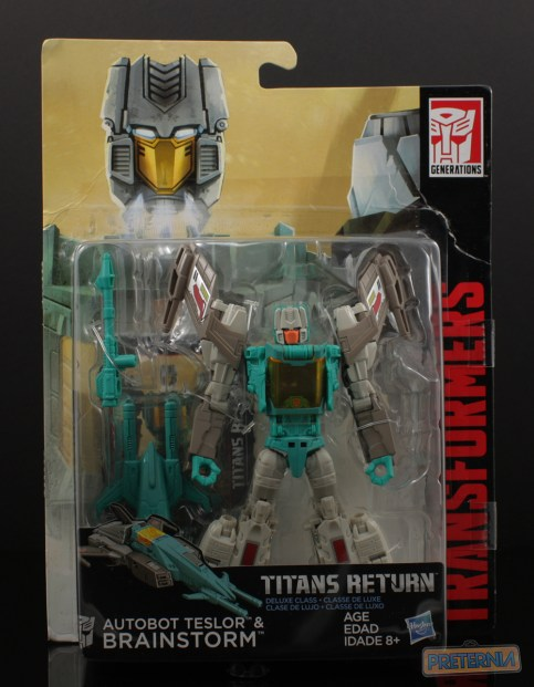 Hasbro Transformers Titans Return Brainstorm Review