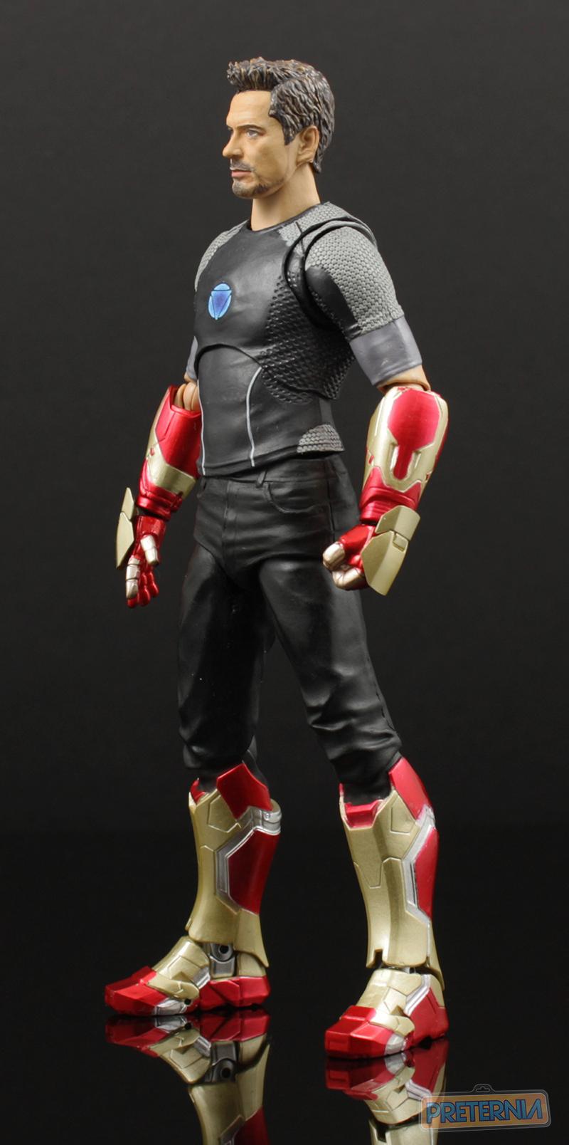 Bandai S.H. Figuarts Iron Man 3 Tony Stark Review