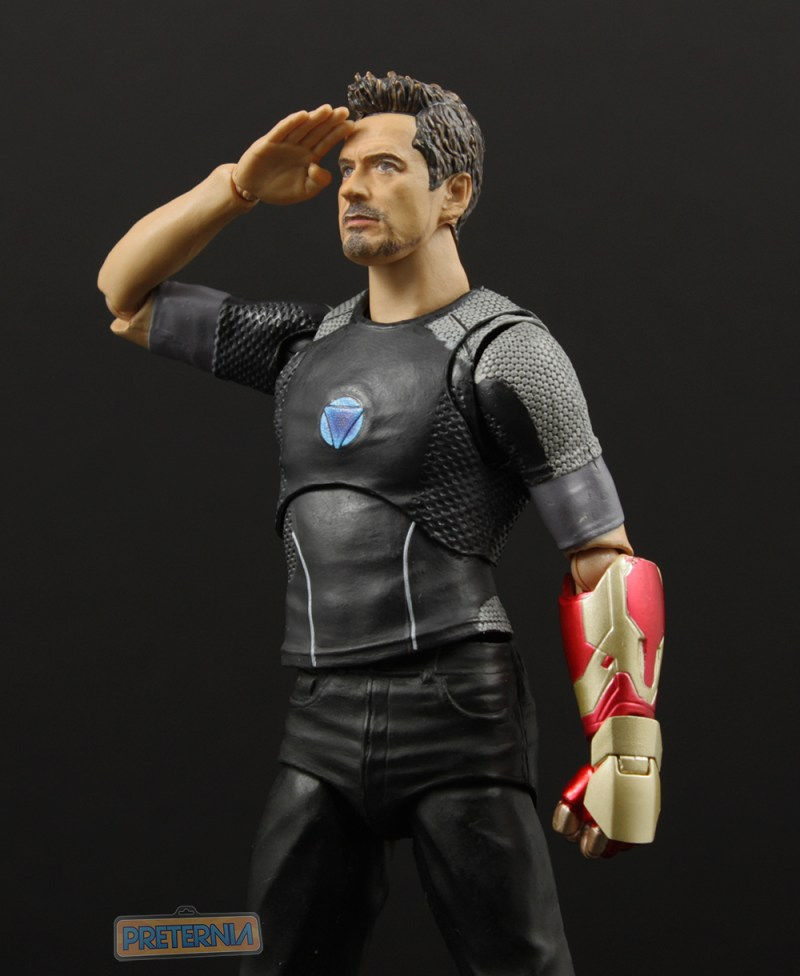 Bandai S.H. Figuarts Iron Man 3 Tony Stark Review