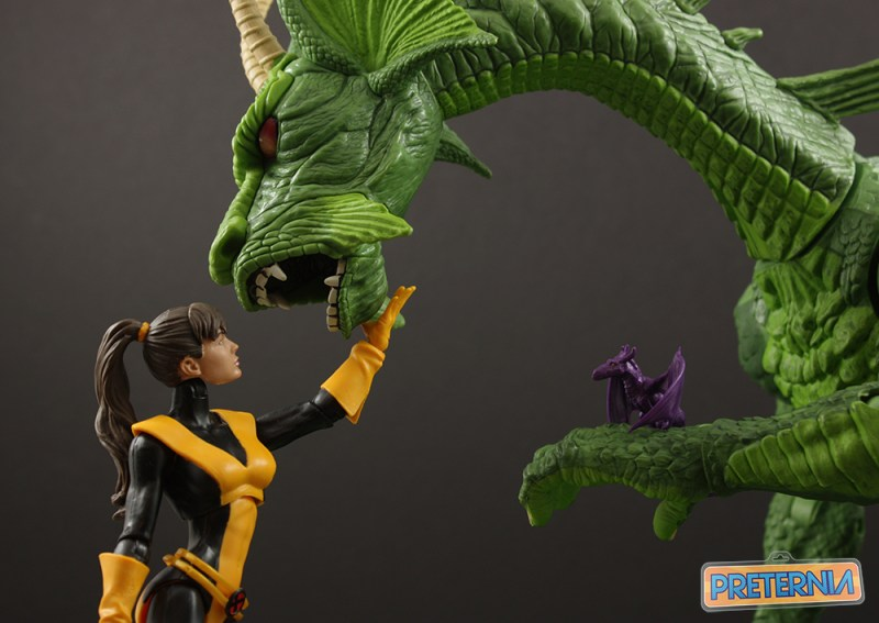 Hasbro Marvel Legends Kitty Pryde Top Ten List 2016