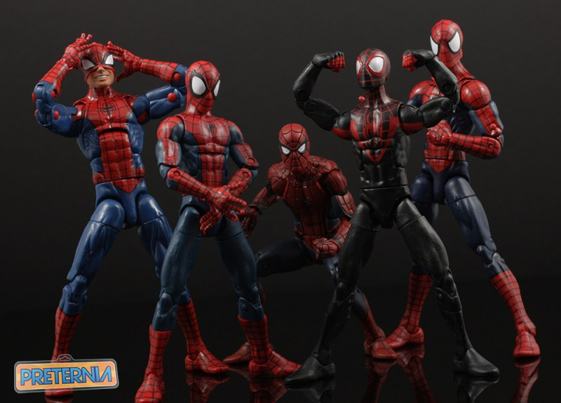 Hasbro Marvel Legends Spider-Man Miles Morales Top Ten List 2016
