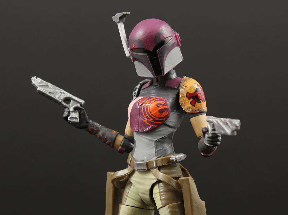 Hasbro Star Wars Black #33 Sabine Wren Six-Inch Review