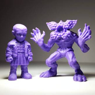 Stranger Things M.U.S.C.L.E. Mini Figures Eleven Demogorgon