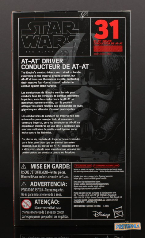 Hasbro Star Wars Black Six-Inch AT-AT Driver Review