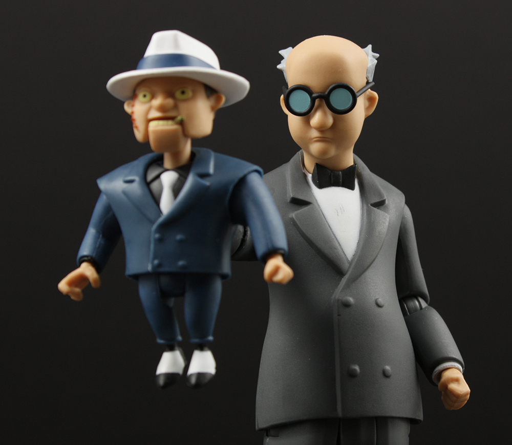 DC Collectibles Batman The Animated Series Ventriloquist and Scarface Review