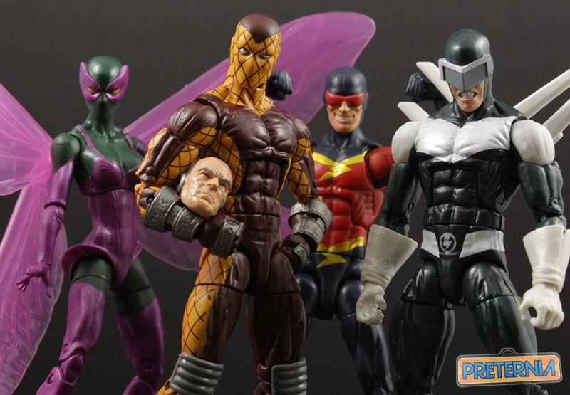 Hasbro Marvel Legends Sandman Series Shocker Review